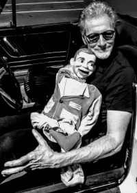 Dominic Zuccone with puppet Author Photo